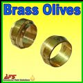 COMPRESSION BRASS OLIVES / CUTTING RINGS